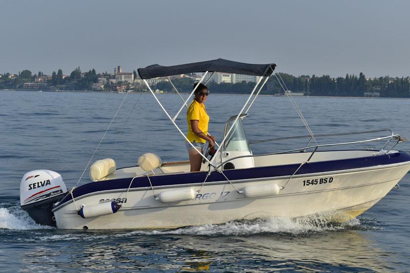 Barche senza patente lago di Garda Sessa Key Largo 17
