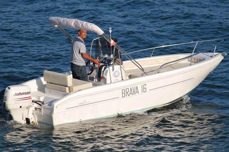 barca senza patente 6 posti