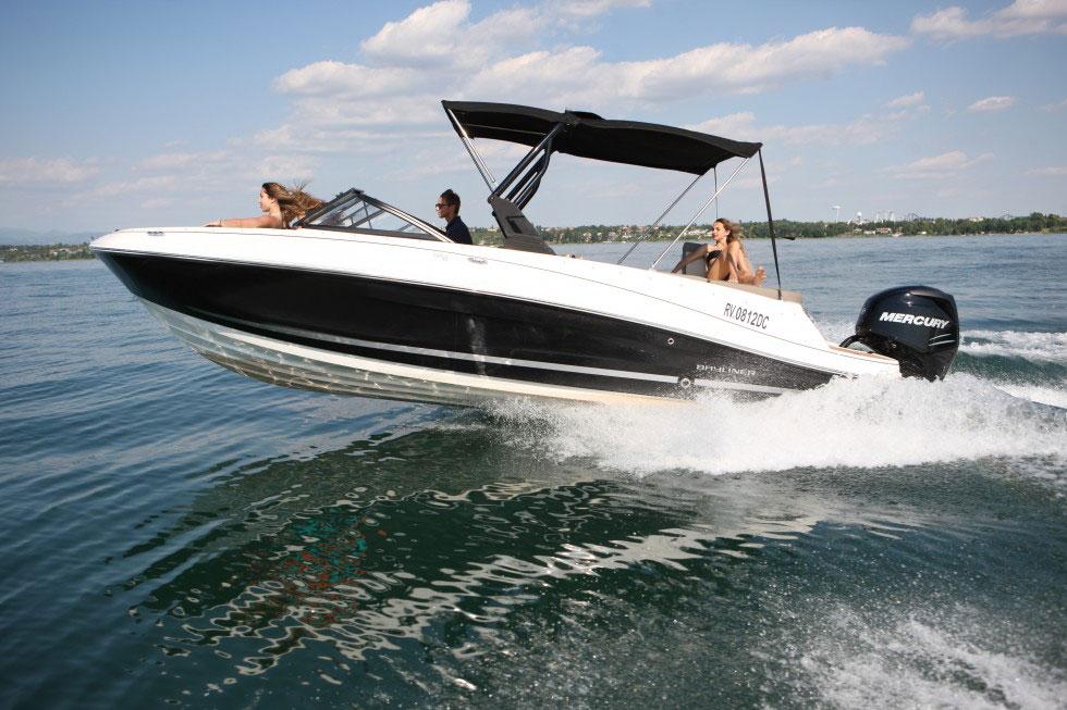 Motoscafo con patente lago di Garda