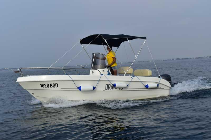 barca senza patente 7 posti
